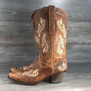 Corral woman's Leather embroidered Western Boots
